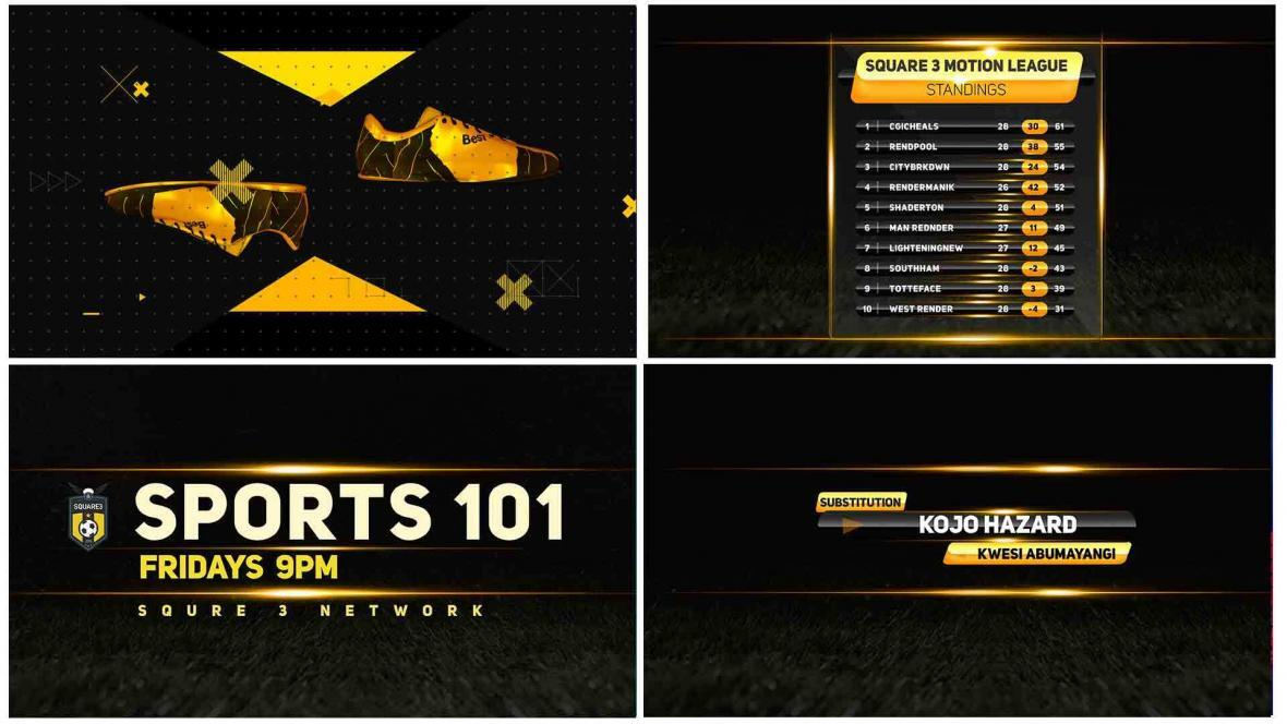 Sports Broadcast Pack